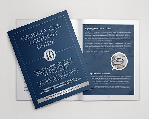 gerogia car accident guide